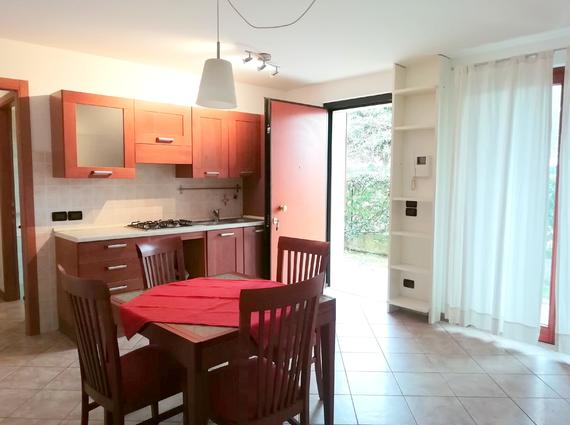 Miniappartamento con giardinetto a Pasian di Prato
