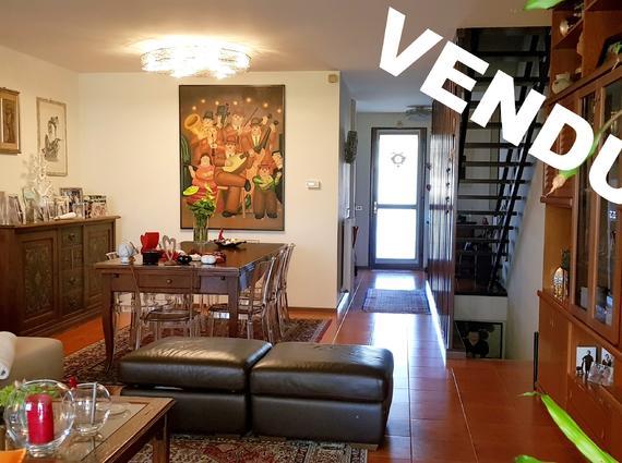 Villetta a schiera con giardino, interni Viale Palmanova