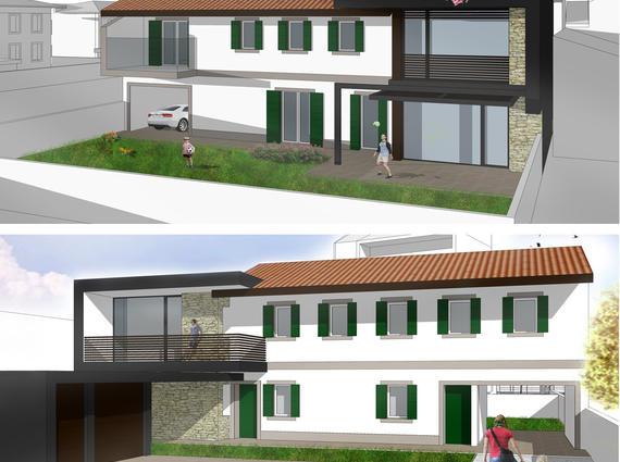 Bifamiliare nuova costruzione vicinanze centro