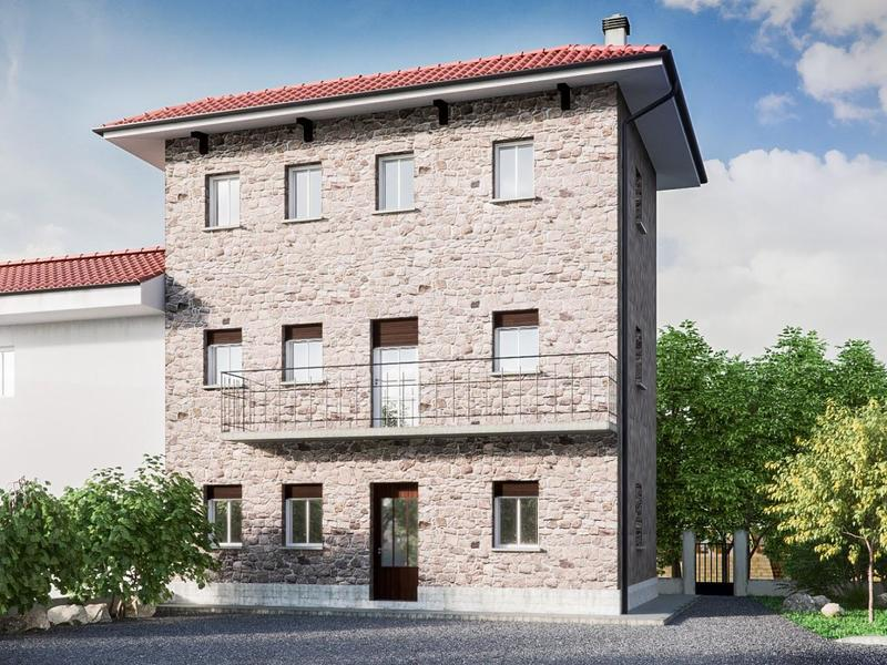 Macoratti Immobiliare Udine – Nuova casa su lotto di 770 mq in centro a Feletto – Img1
