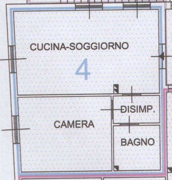 Bilocale Camporosso Viottolo Florianca 2, Camporosso 4