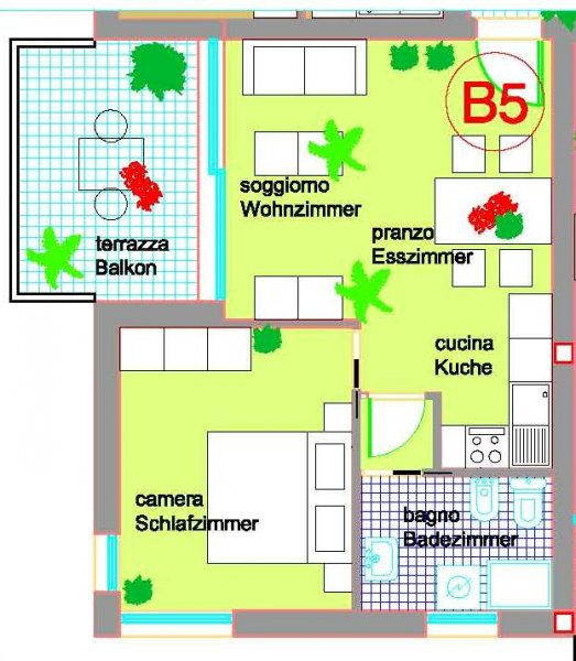 Vendita  bilocale Grado Via Guglielmo Marconi 1, Grado 1 1037239